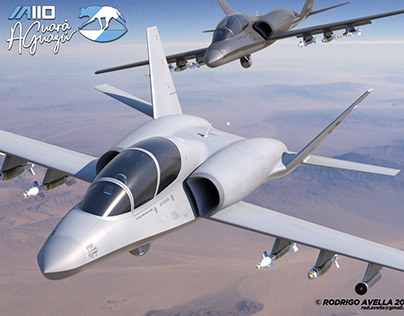 IA110 Aguará Guazú Concept - Light Attack Aircraft.
