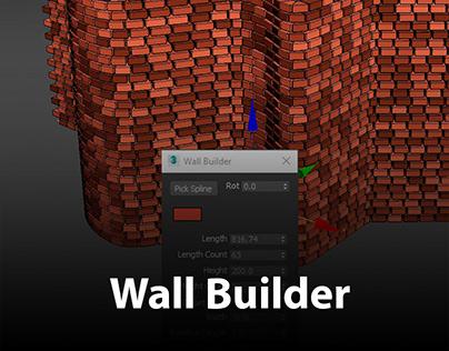 Wall Builder   3dsMax Script
