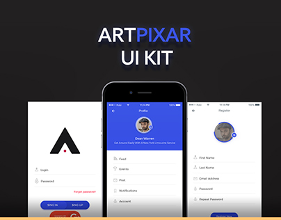Artpixar UI E-commerce App