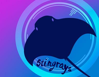 Stingrays Australian Women's Ultimate Shirt Design
