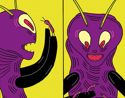 The Insect – comics