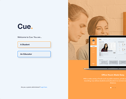 Cue. - Virtual Classroom