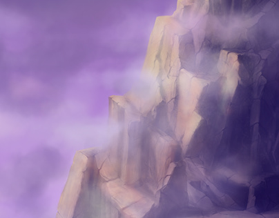 Digital Painting-Damavand