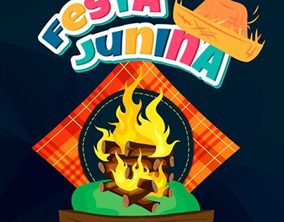 Banner Festa Junina