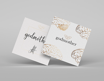 Business cards for Godmother company