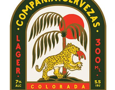 Etiqueta Cerveza Fiera