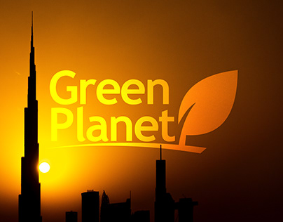 Green Planet FZE Corporate Branding