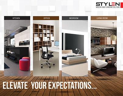 Stylen brochure design