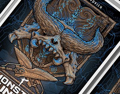 Poster for film Monster Hunter