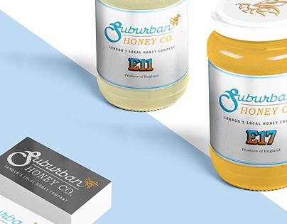 Honey jars & business cards