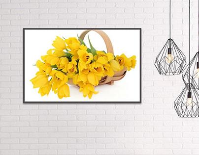 Hoa màu vàng