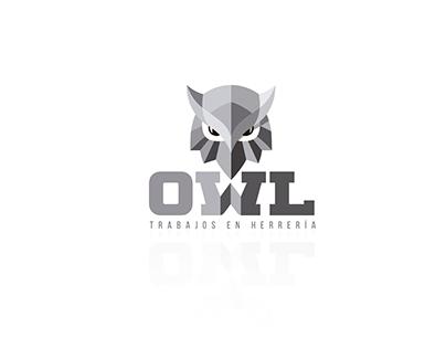 OWL blacksmith work - LOGO
