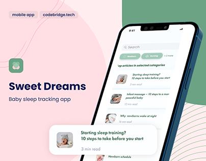 Baby sleep tracker app