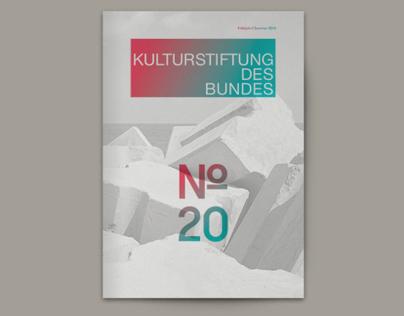 Kulturstiftung des Bundes – Magazin No. 20