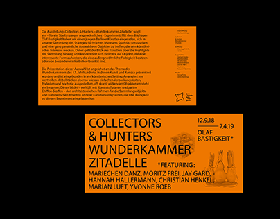 Collectors and Hunters – Olaf Bastigkeit