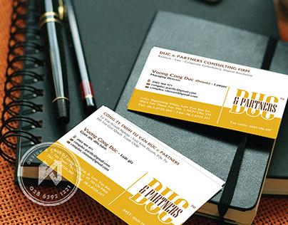 Law Branding Design - Duc & Partners Branding