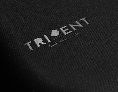 Trident Booksellers and Cafe Logo Redesign