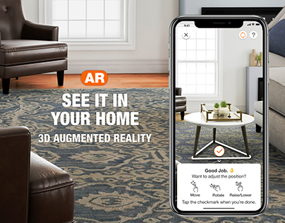 Home Depot® App - Apple AR Augmented Reality Experience