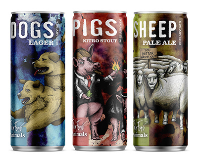 Animals: A Pink Floyd themed beer