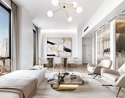 200E21 GRAMERCY Interior design concept