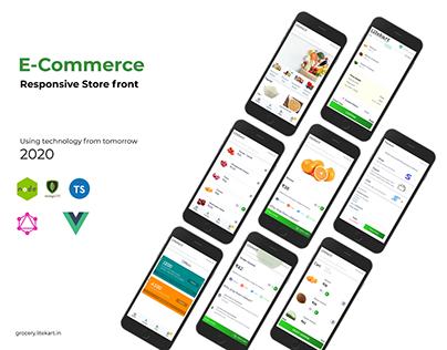 Litekart - Multi-vendor Grocery Ordering Application