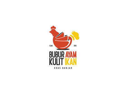 Bubur Ayam Kulit Ikan Logo Design