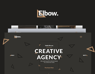 Elbow - Creative Responsive Agency HTML5 Template