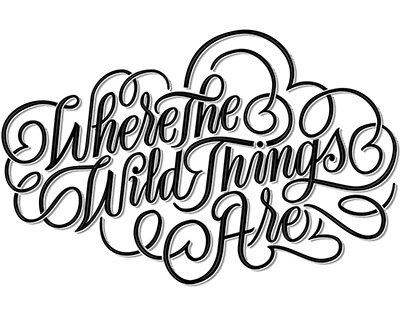 Where the wild things are // Lettering Mural ESDA