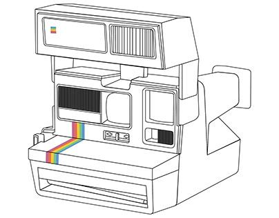 80's Polaroid Camera