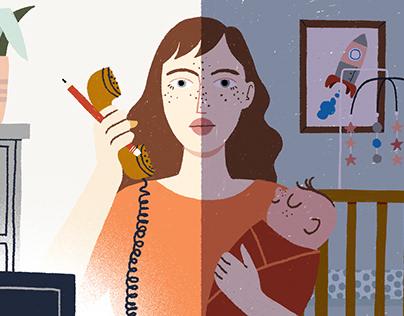 Quando o leite não vem | Illustrations VivaBem UOL