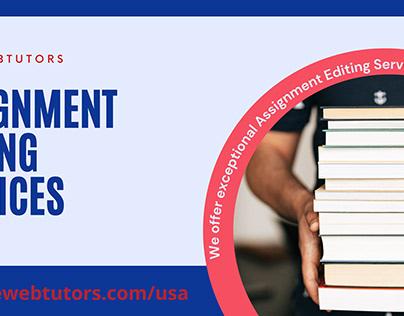 LiveWebTutors: Assignment Editing Services USA