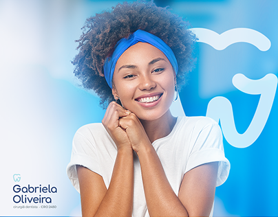 identidade visual - dentista gabriela oliveira