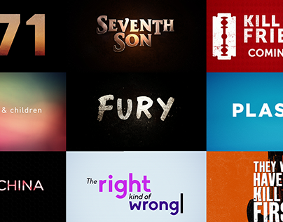 Film Titles Style frames (Regularly updated)