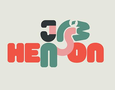Evocative typography // Jim Henson