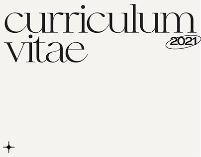 curriculum vitae / CV   personal branding