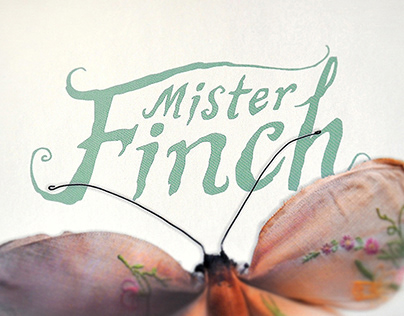 Mister Finch - logo and typeface