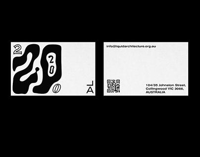 Liquid Architecture: 202020 Branding