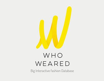 Ui Design Who Weared