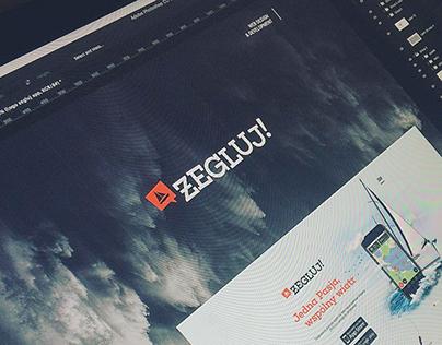 Żegluj App Website