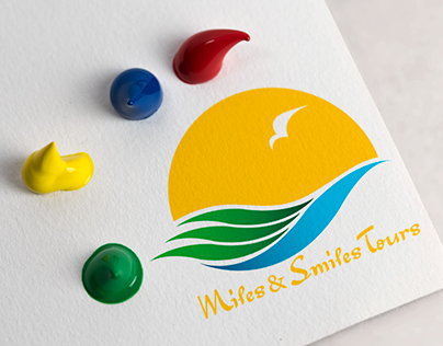 Miles And Smiles Logo & Branding