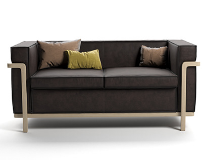 Bleu Nature Cobblewood sofa 3D-modelling