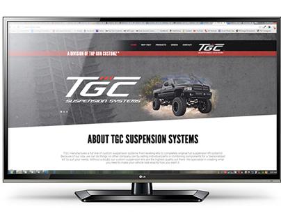 TGC Suspension Systems Website