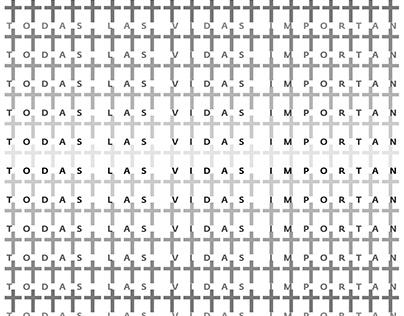 """Cartel, """"Todas las vidas importan"""", Colombia, 2020."""