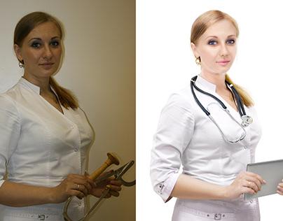 wooden stethoscope vs ipad