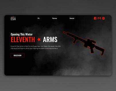 Firearms Retailer Brand/Web Design