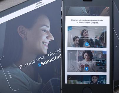 Campaña #UnaSoluciónParaTuVida App Bupa