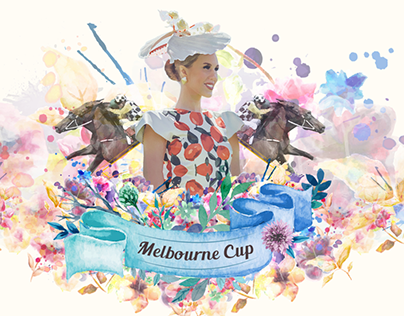 Melbourne Cup - Digital Invitation