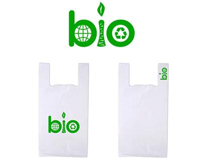 Logo for a biodegradable bag