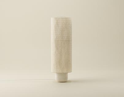 Japanese paper lamp