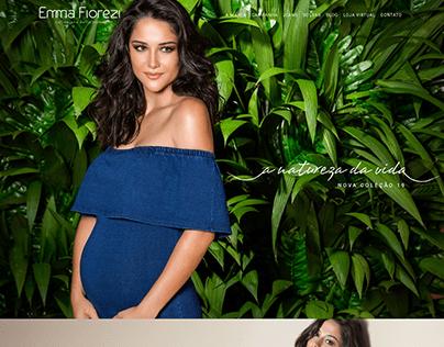 Website Emma Fiorezi Verão 2019